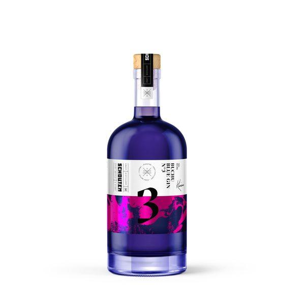 Schouten Distillery. Khoisan No.3, Buchu Blue Gin